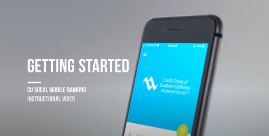 Watch this video to learn how to install CU SoCal's Mobile Banking app.