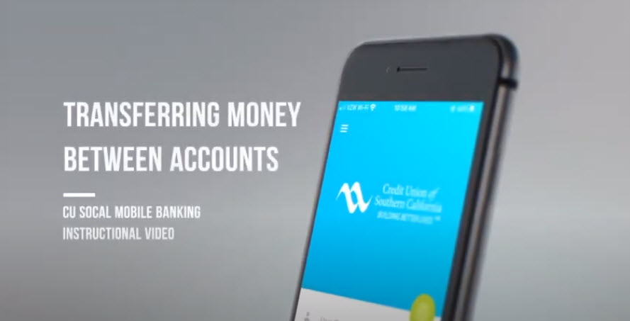 Watch this video to learn how to transfer money in Mobile Banking.