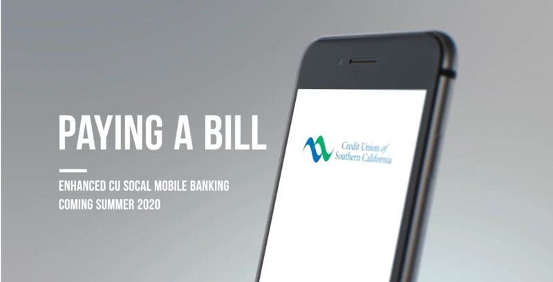 Learn how to paying a bill on CU SoCal's new Online Banking.